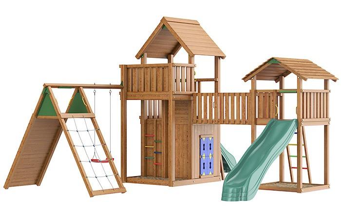 Детский деревянный комплекс Jungle Grand Palace
