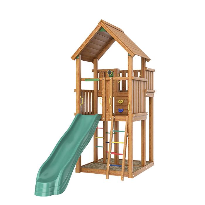 Детский деревянный комплекс Jungle Palace