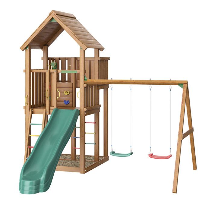 Детский игровой комплекс Jungle Palace + Swing X