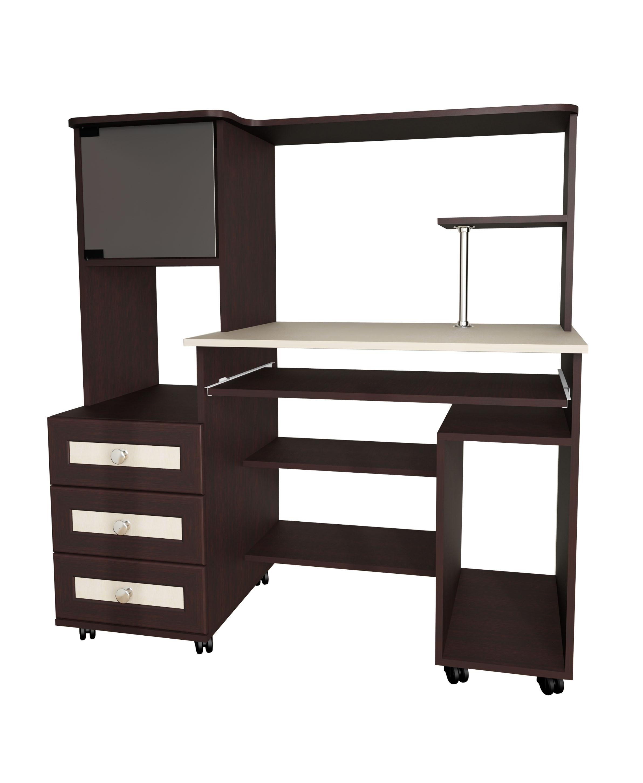 Компьютерный стол Мебелайн-25Компьютерные столы<br>Размер: 1200х600 В1275<br><br>Материалы: ЛДСП, кромка ПВХ, рамка МДФ<br>Полный размер (ДхГхВ): 1200х600х1275<br>Примечание: Доставляется в разобранном виде<br>Изготовление и доставка: 5-7 дней, дни доставок среда и суббота<br>Условия доставки: Бесплатная по Москве до подъезда<br>Условие оплаты: Оплата наличными при получении товара<br>Доставка по МО (за пределами МКАД): 30 руб./км<br>Доставка в пределах ТТК: Доставка в центр Москвы осуществляется ночью, с 22.00 до 6.00 утра<br>Подъем на лифте: 300 руб.<br>Подъем без лифта: 150 руб./этаж, включая первый<br>Сборка: 1000 руб.<br>Гарантия: 12 месяцев<br>Производство: Россия<br>Производитель: Мебелайн