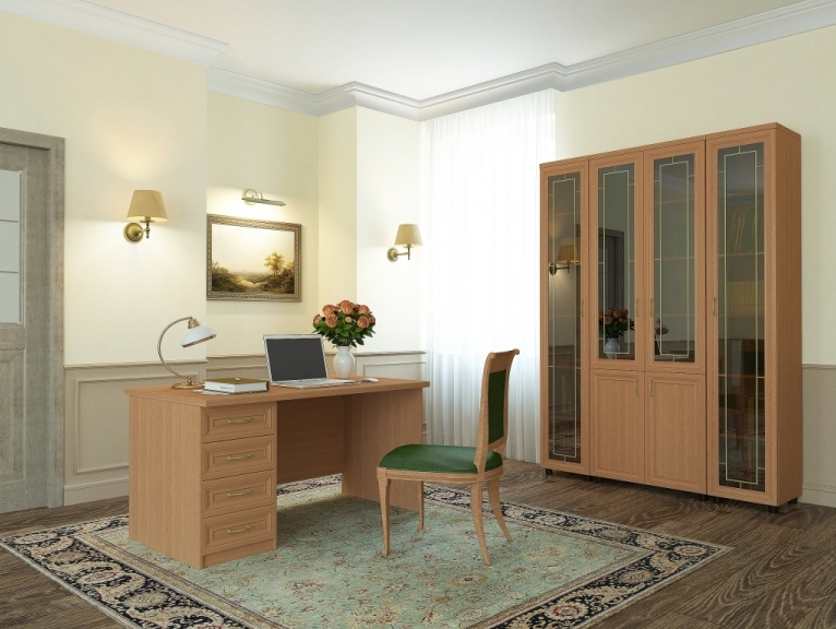 Кабинет-библиотека Премьер-2 домашний кабинет