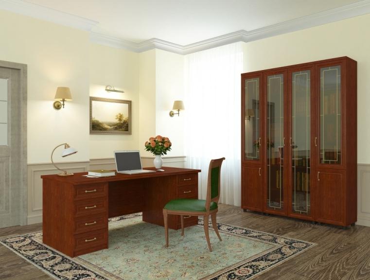 Кабинет-библиотека Премьер-3 домашний кабинет