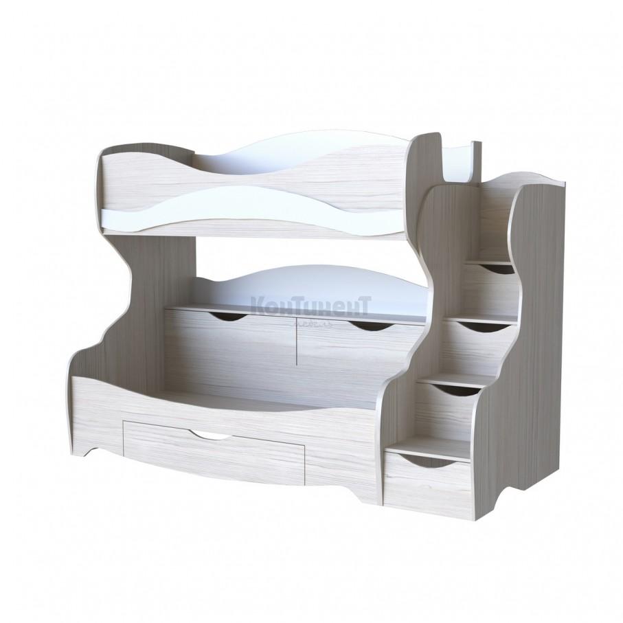 Двухъярусная кровать Карамель