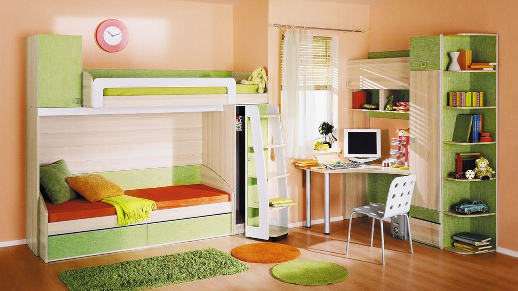 Модульная детская комната Киви №12 ГН-139.012