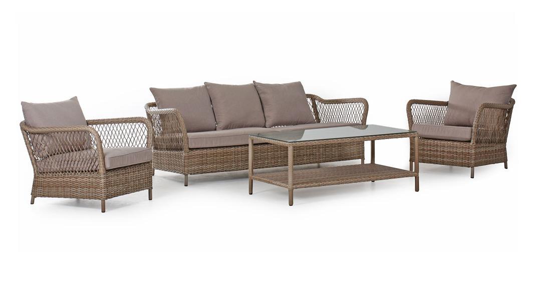 Комплект плетеной мебели Maple Brafab