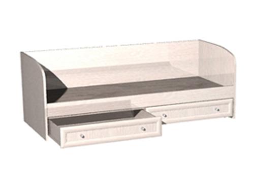 Кровать с ящиками для белья КО-01