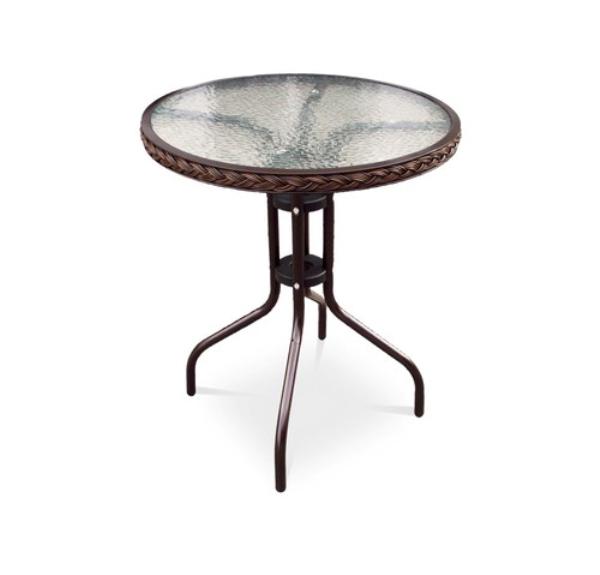 Кофейный столик для дачи TLH-087A/В-60 плетеные заборы для дачи купить