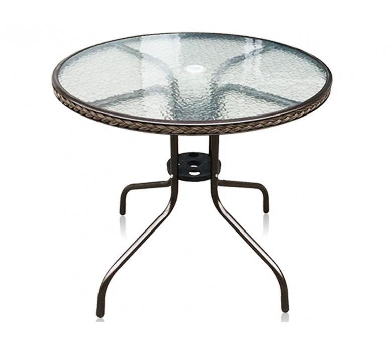 Кофейный столик для дачи TLH-087А/В-80 плетеные заборы для дачи купить