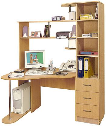 Стол для компьютера Mebelus 15680433 от mebel-top.ru
