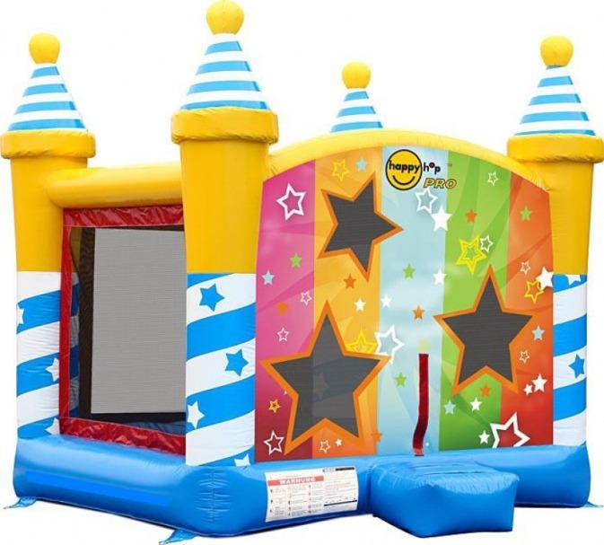 Коммерческий батут Звездный Замок 1025 Happy Hop детский батут мини замок 4 в 1 9114 happy hop