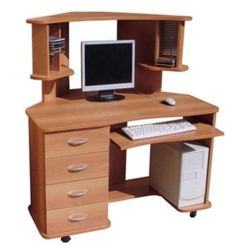 Компьютерный стол КС-10Компьютерные столы<br>Размер: 1180/1080 В1232<br><br>Материалы: ЛДСП, кромка ПВХ<br>Полный размер (ДхГхВ): 1180/1080х1232<br>Доступны другие размеры: Нет<br>Примечание: Доставляется в разобранном виде<br>Изготовление и доставка: 8-10 дней<br>Условия доставки: Бесплатная по Москве до подъезда<br>Условие оплаты: Оплата наличными при получении товара<br>Доставка по МО (за пределами МКАД): 30 руб./км<br>Доставка в пределах ТТК: Доставка в центр Москвы осуществляется ночью, с 22.00 до 6.00 утра<br>Подъем на лифте: 300 руб.<br>Подъем без лифта: 150 руб./этаж, включая первый<br>Сборка: 1000 руб.<br>Гарантия: 12 месяцев<br>Производство: Россия<br>Производитель: Mebelus