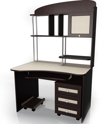 Компьютерный стол Мебелайн-16 стенка мебелайн 5
