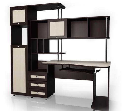 Компьютерный стол Мебелайн-17Компьютерные столы<br>Размер: 1930х900 В1955<br><br>Материалы: ЛДСП, кромка ПВХ, рамка МДФ<br>Полный размер (ДхГхВ): 1930х900х1955<br>Примечание: Доставляется в разобранном виде<br>Изготовление и доставка: 5-7 дней, дни доставок среда и суббота<br>Условия доставки: Бесплатная по Москве до подъезда<br>Условие оплаты: Оплата наличными при получении товара<br>Доставка по МО (за пределами МКАД): 30 руб./км<br>Доставка в пределах ТТК: Доставка в центр Москвы осуществляется ночью, с 22.00 до 6.00 утра<br>Подъем на грузовом лифте: 500 руб.<br>Подъем без лифта: 250 руб./этаж<br>Сборка: 10% от стоимости изделия<br>Гарантия: 12 месяцев<br>Производство: Россия<br>Производитель: Мебелайн