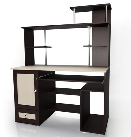 Компьютерный стол Мебелайн-29 библиотека мебелайн 4