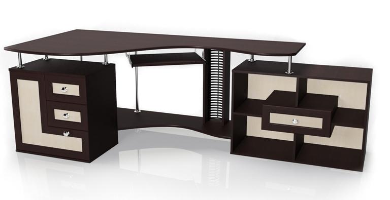 Компьютерный стол Мебелайн-9 библиотека мебелайн 4