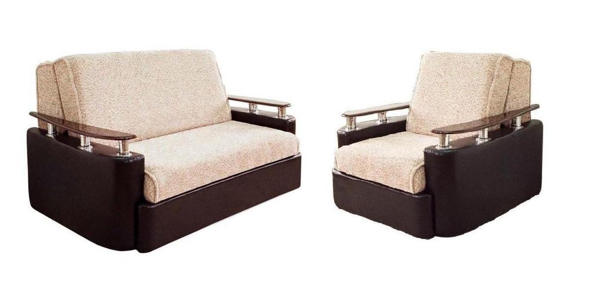 Комплект мягкой мебели Блюз 6-АК-Модена