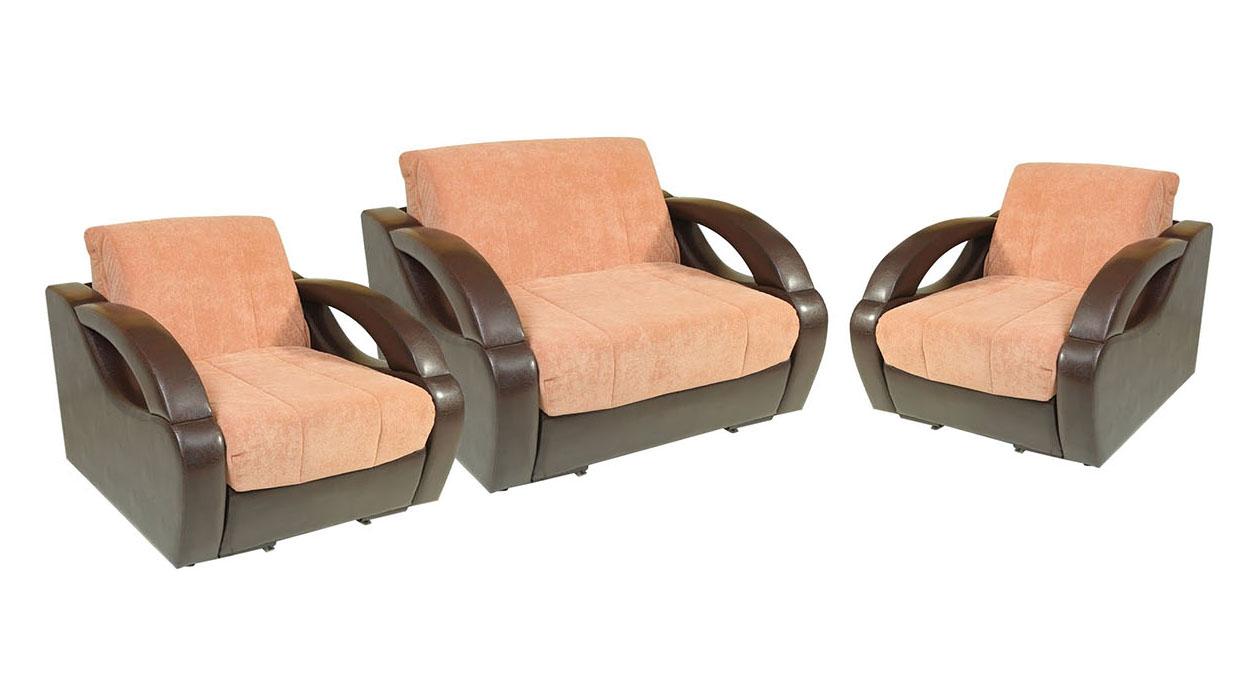 Комплект мягкой мебели Ласка-2