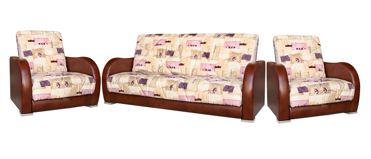 Комплект мягкой мебели Орегон 3+1+1