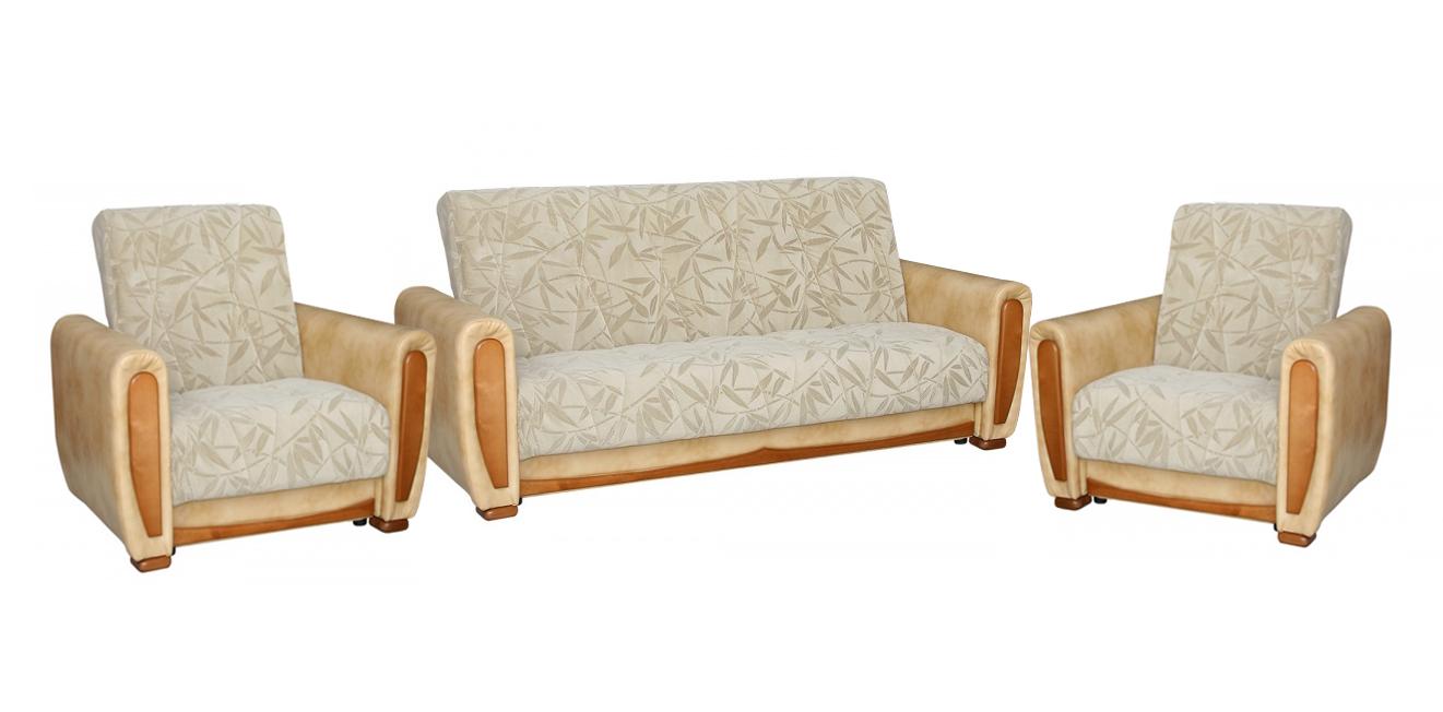 Комплект мягкой мебели Орегон Люкс 3+1+1 автостоп h 3 люкс