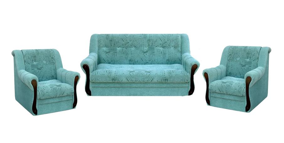 Комплект мягкой мебели Светлана 2+1+1 Грос Размер: диван: 175х100х95 (сп.м. 142х194); кресло: 98х100 В95
