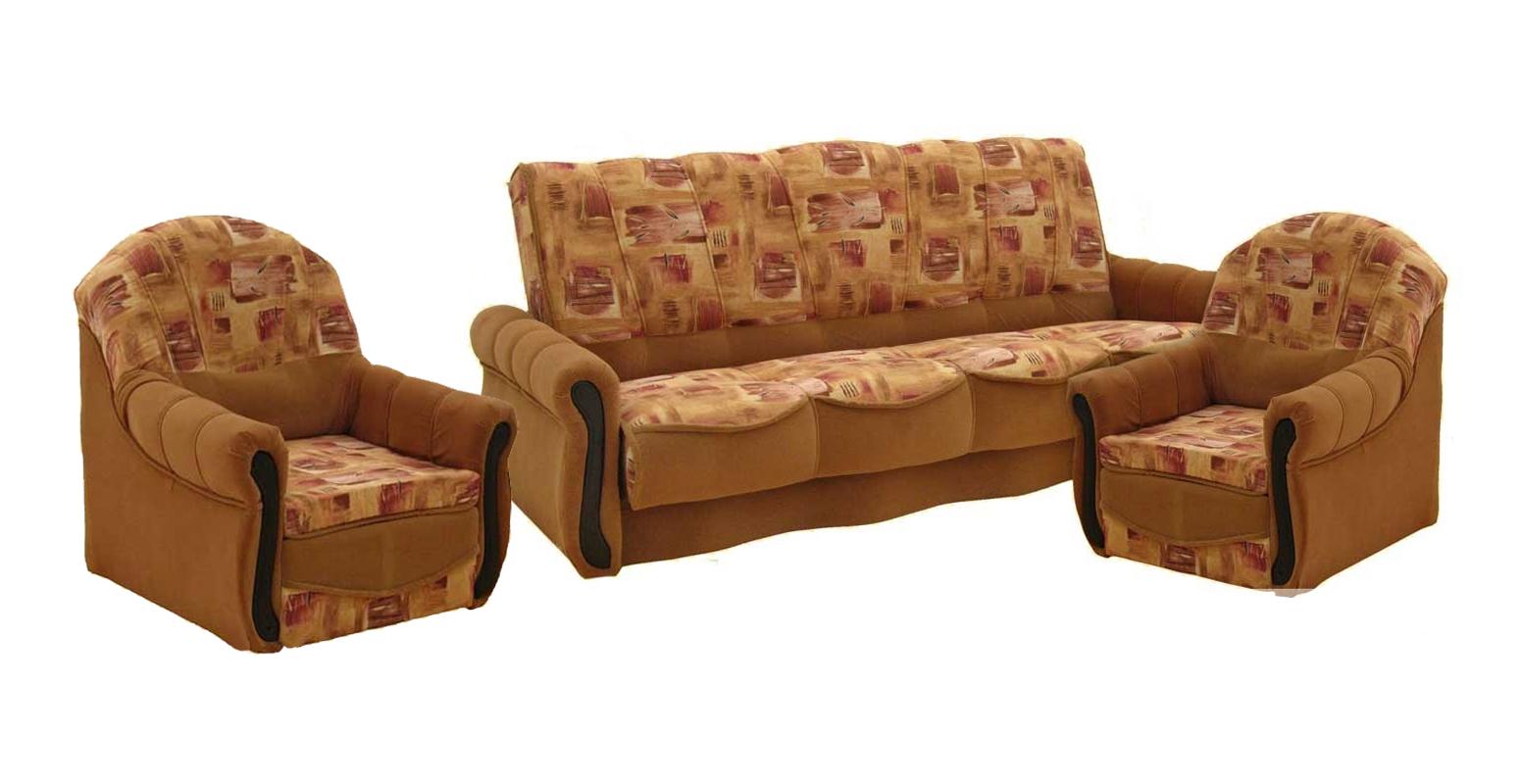 Комплект мягкой мебели Юлия-Люкс 3+1+1