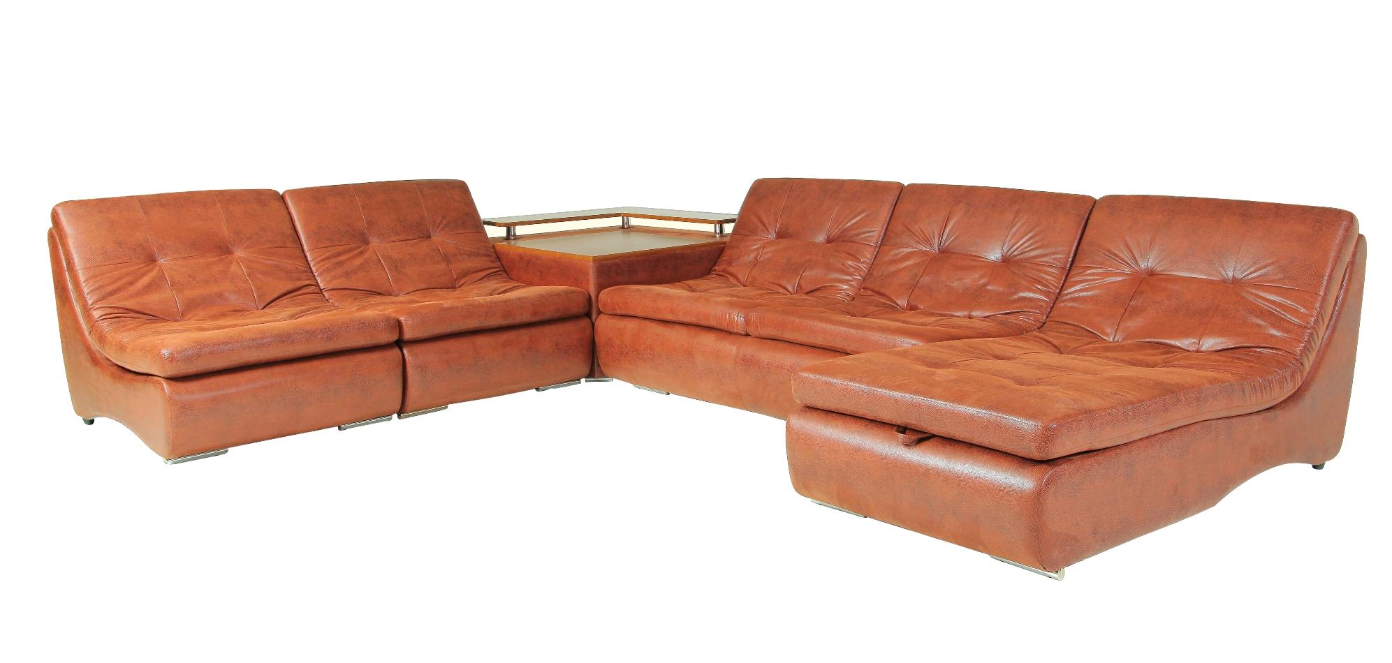 Угловой модульный диван Монреаль-5 модульный угловой шкаф виго