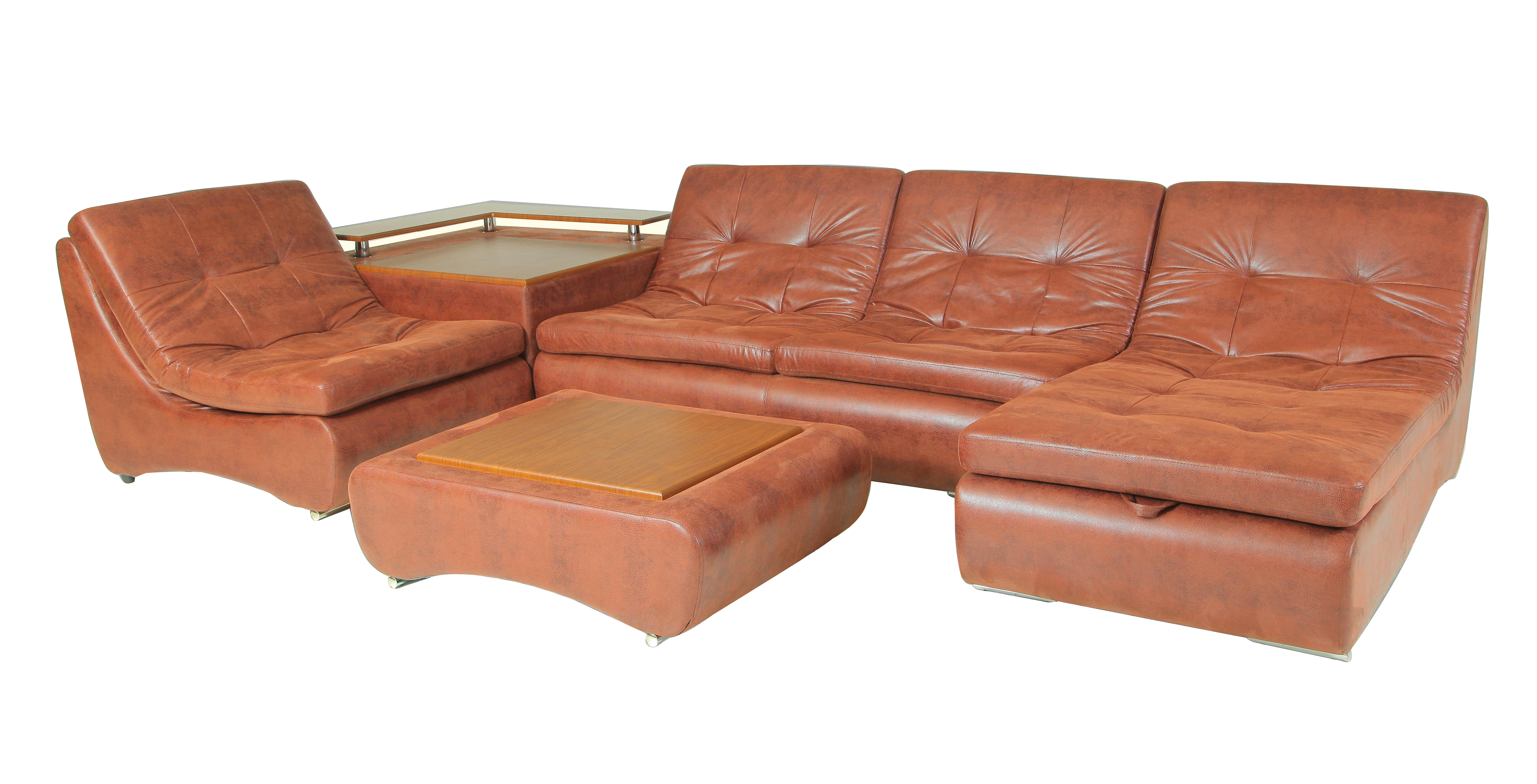 Угловой модульный диван Монреаль-6