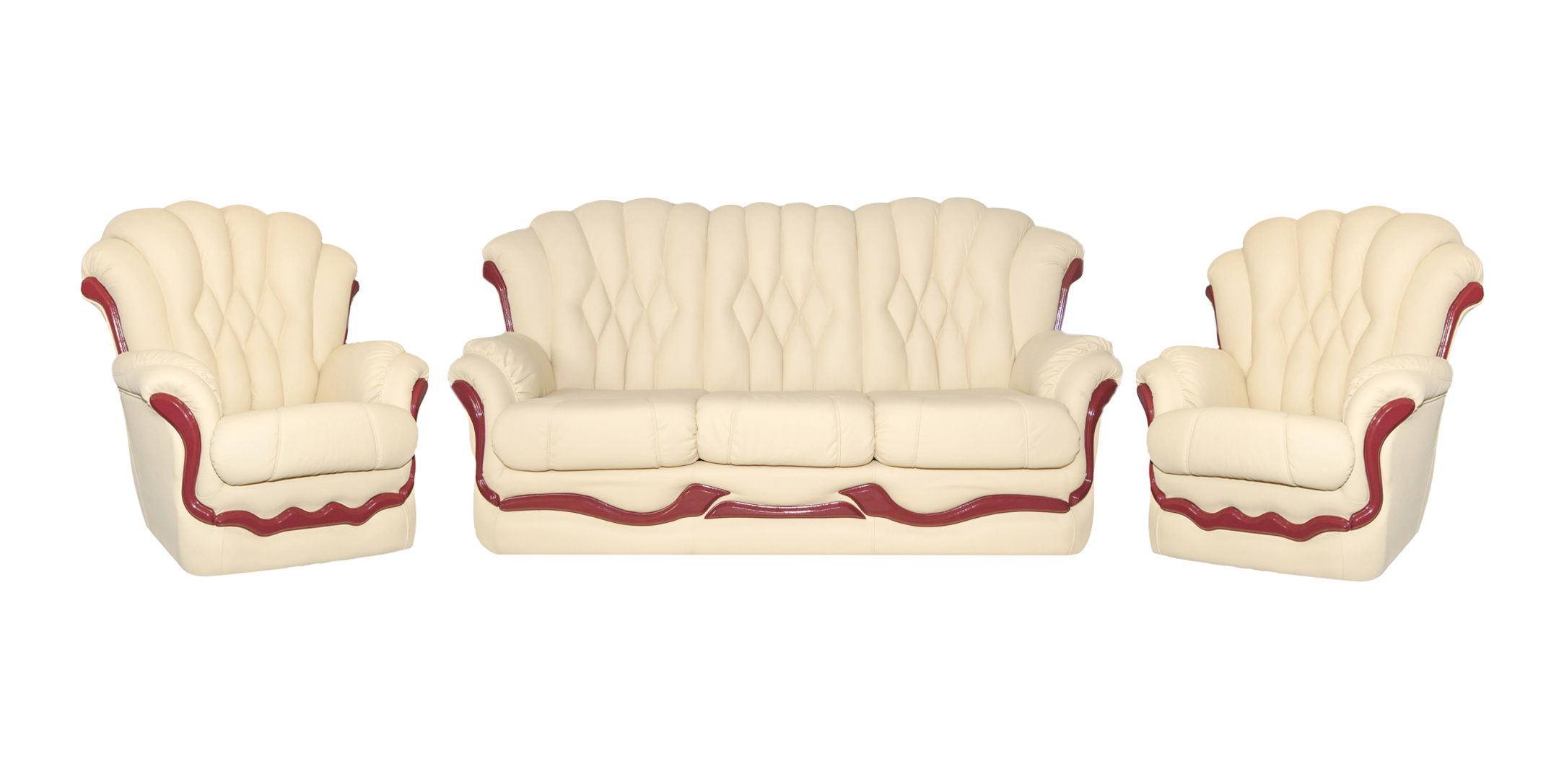 Комплект мягкой мебели Корона