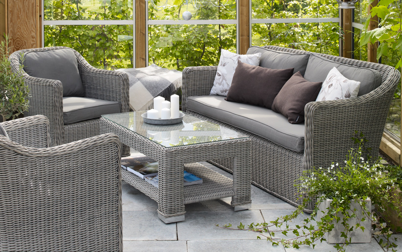Комплект плетеной мебели Amira Brafab
