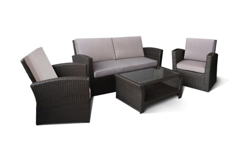 Комплект мебели из искусственного ротанга 2+1+1 AFM-2050 mi 009 1 набор breakfast 2стула стол мёд шатура мебель из ротанга