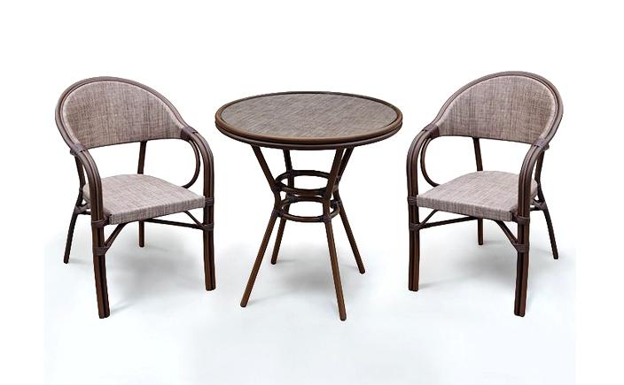 Комплект мебели из искусственного ротанга 2+1 А1007-D2003 mi 009 1 набор breakfast 2стула стол мёд шатура мебель из ротанга