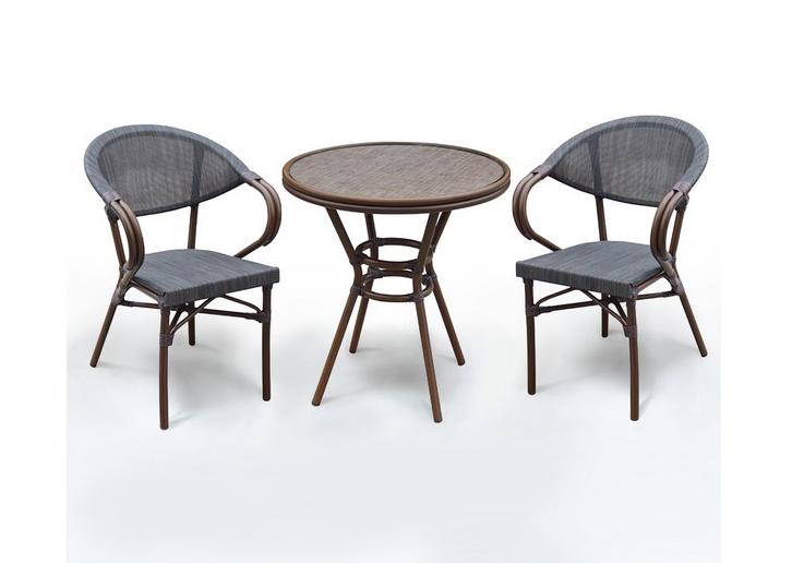 Комплект мебели из искусственного ротанга 2+1 А1007-D2003S