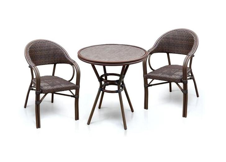 Комплект мебели из искусственного ротанга 2+1 А1007-D2003SR