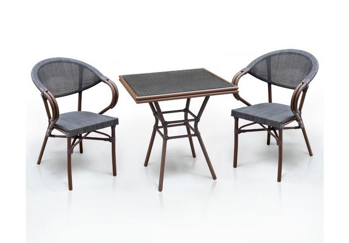 Комплект мебели из искусственного ротанга 2+1 А1016-D2003S-2pcs