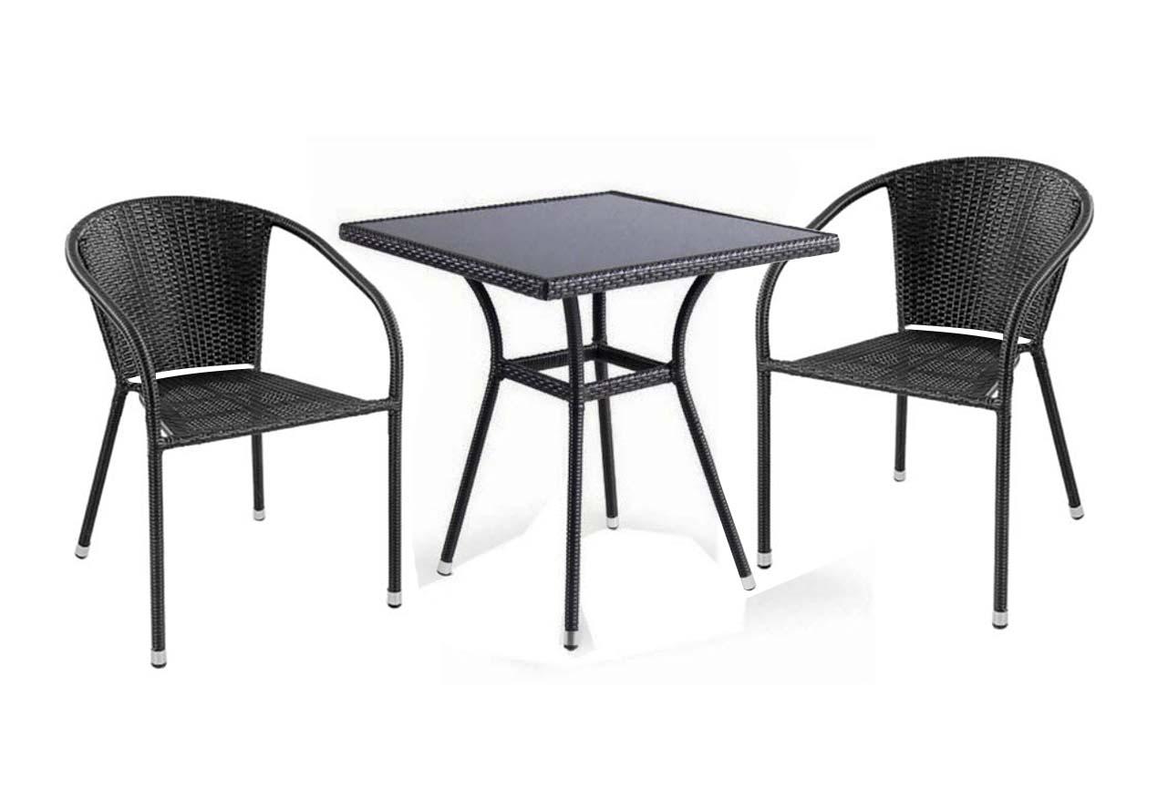 Комплект садовой мебели 2+1 T282B Y-137C 2PCS Афина Мебель