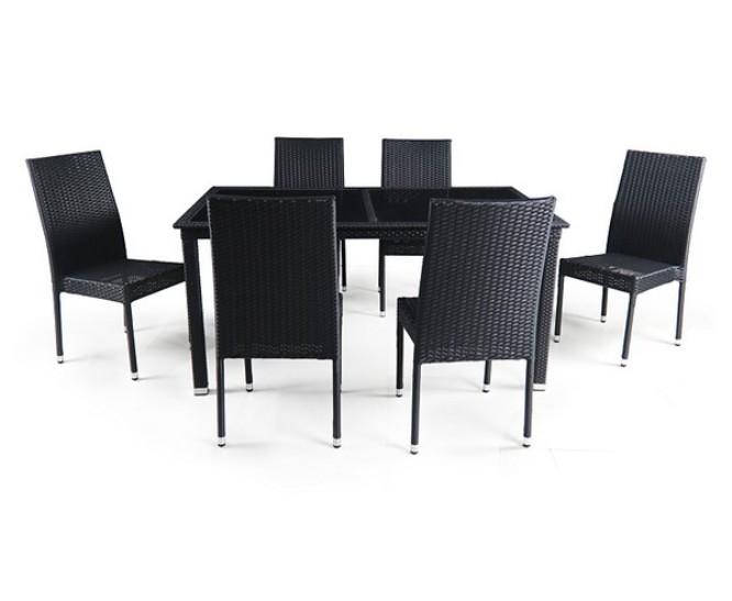Комплект мебели из искусственного ротанга 6+1 T246A Y-191A free shipping 10pcs lot tea1733t tea1733 ic chip sop8 lcd chip integration new original