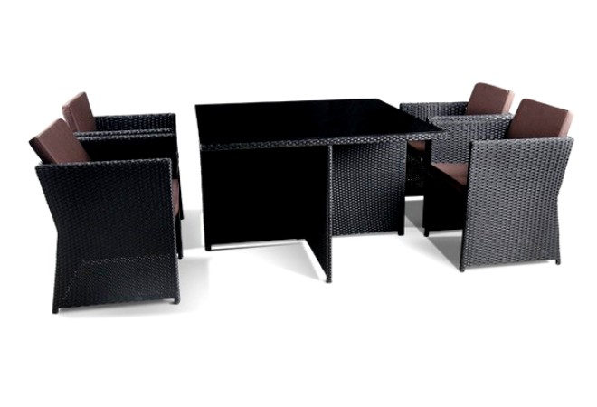 Комплект мебели из искусственного ротанга 4+1 T300A Y-300A