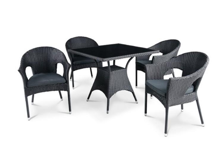Комплект садовой мебели 4+1 T190A-2 Y-97A