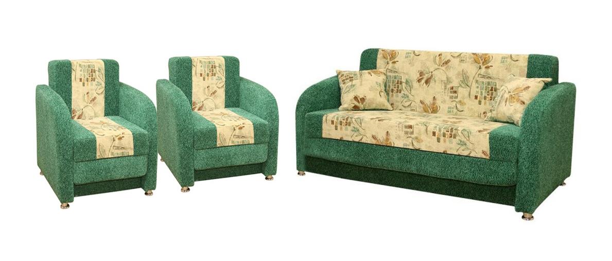 Комплект мягкой мебели Аккордеон-3 (Евро)