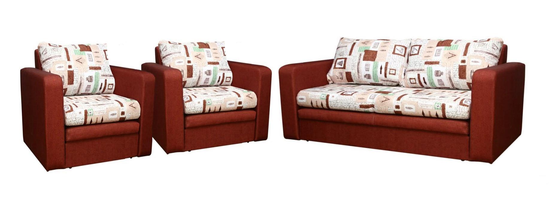 Комплект мягкой мебели Баттерфляй