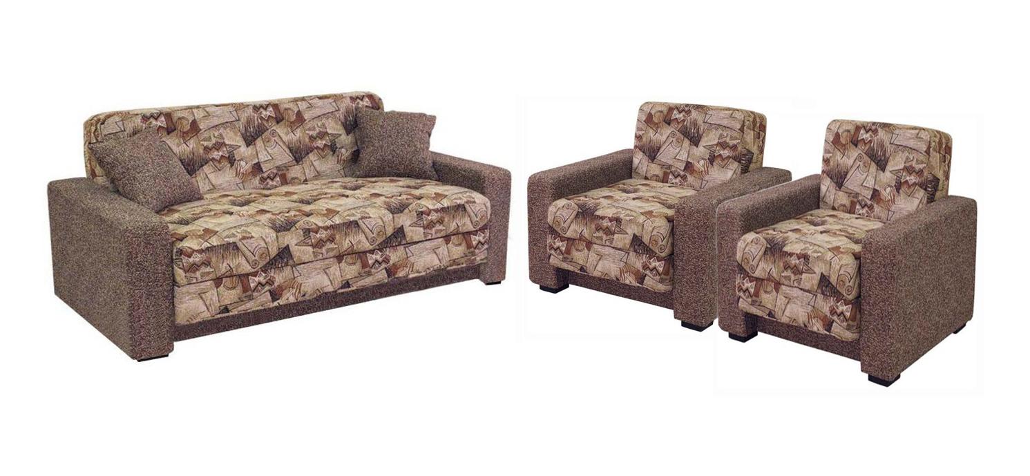 Комплект мягкой мебели Блюз 3-2