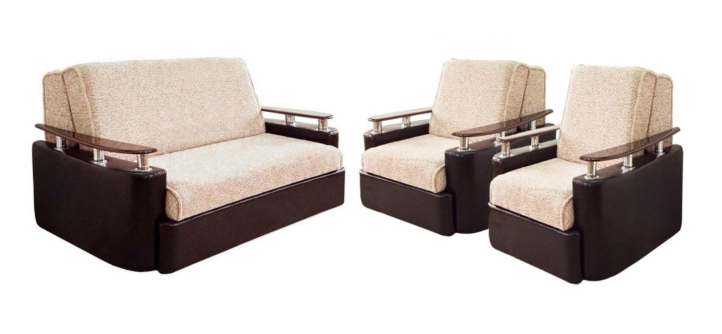 Комплект мягкой мебели Блюз 6-АК