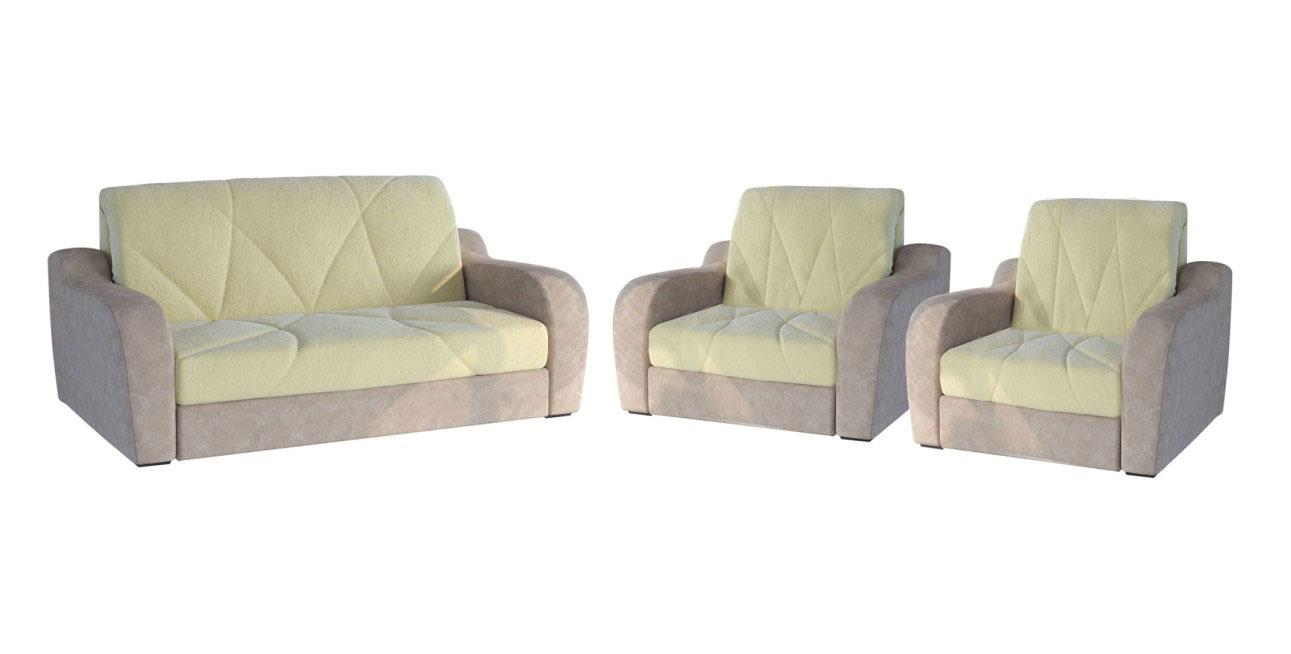 Комплект мягкой мебели Фиант