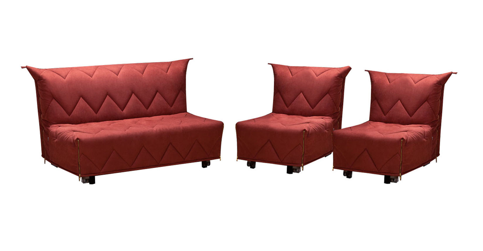 Комплект мягкой мебели Фламинго