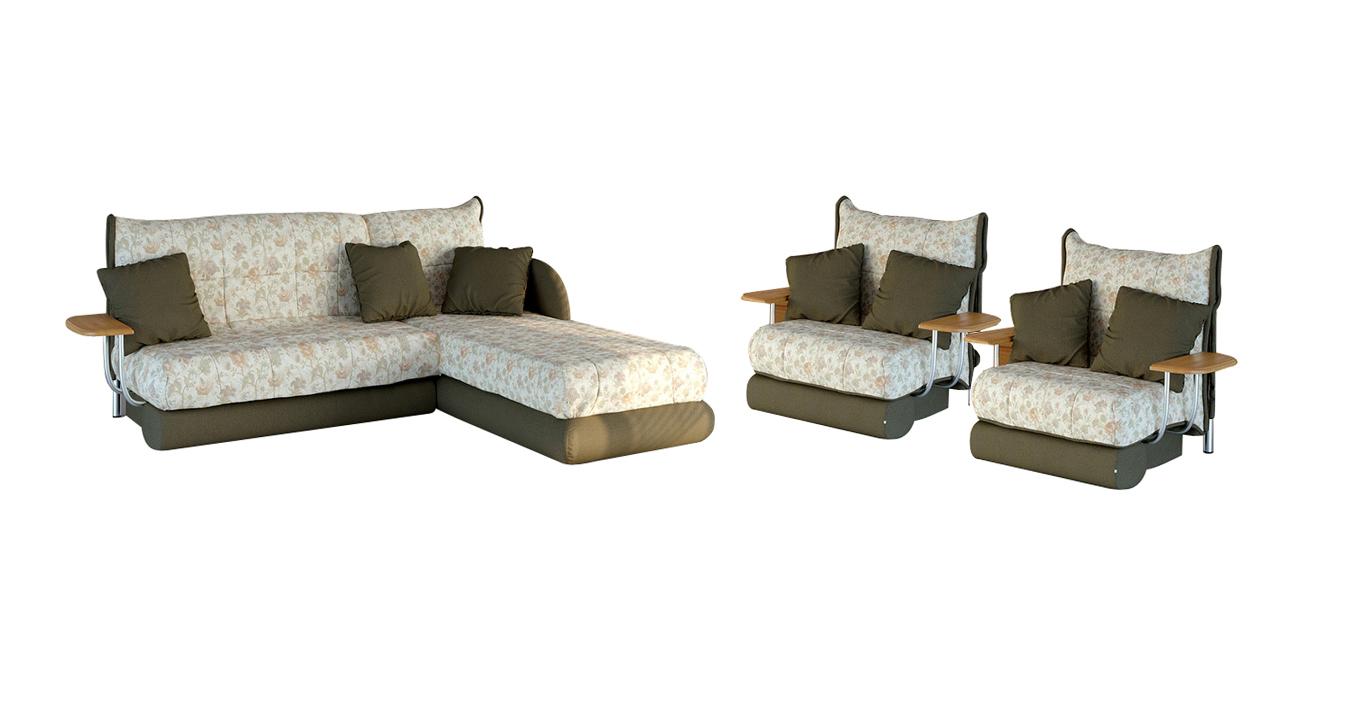 Комплект мягкой мебели Голливуд-2