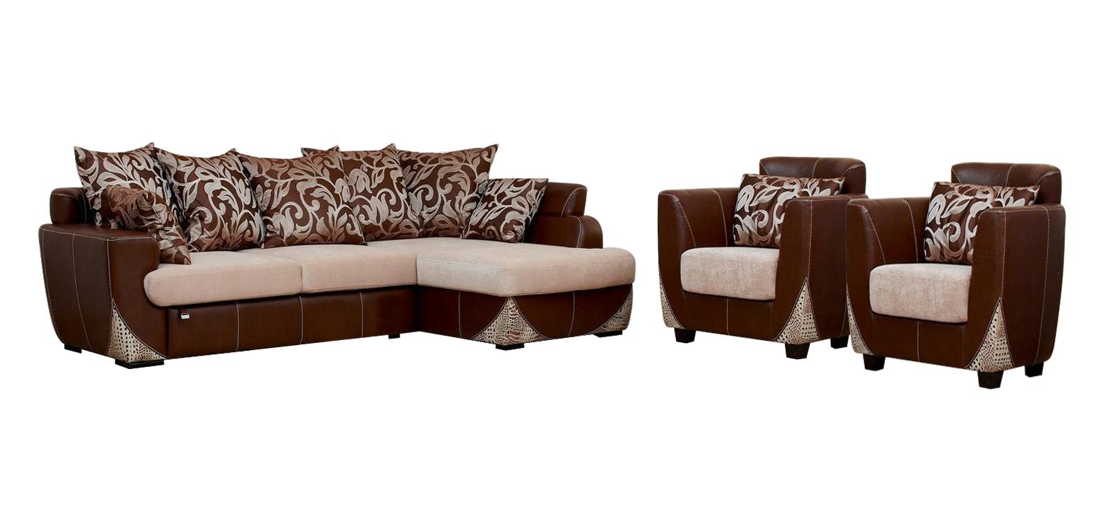 Комплект мягкой мебели Лондон шатура комплект лондон рогожка бежевая диван 2 кресла