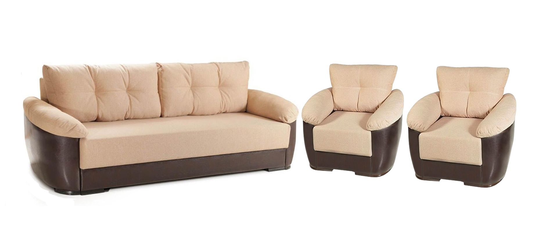 Комплект мягкой мебели Минск