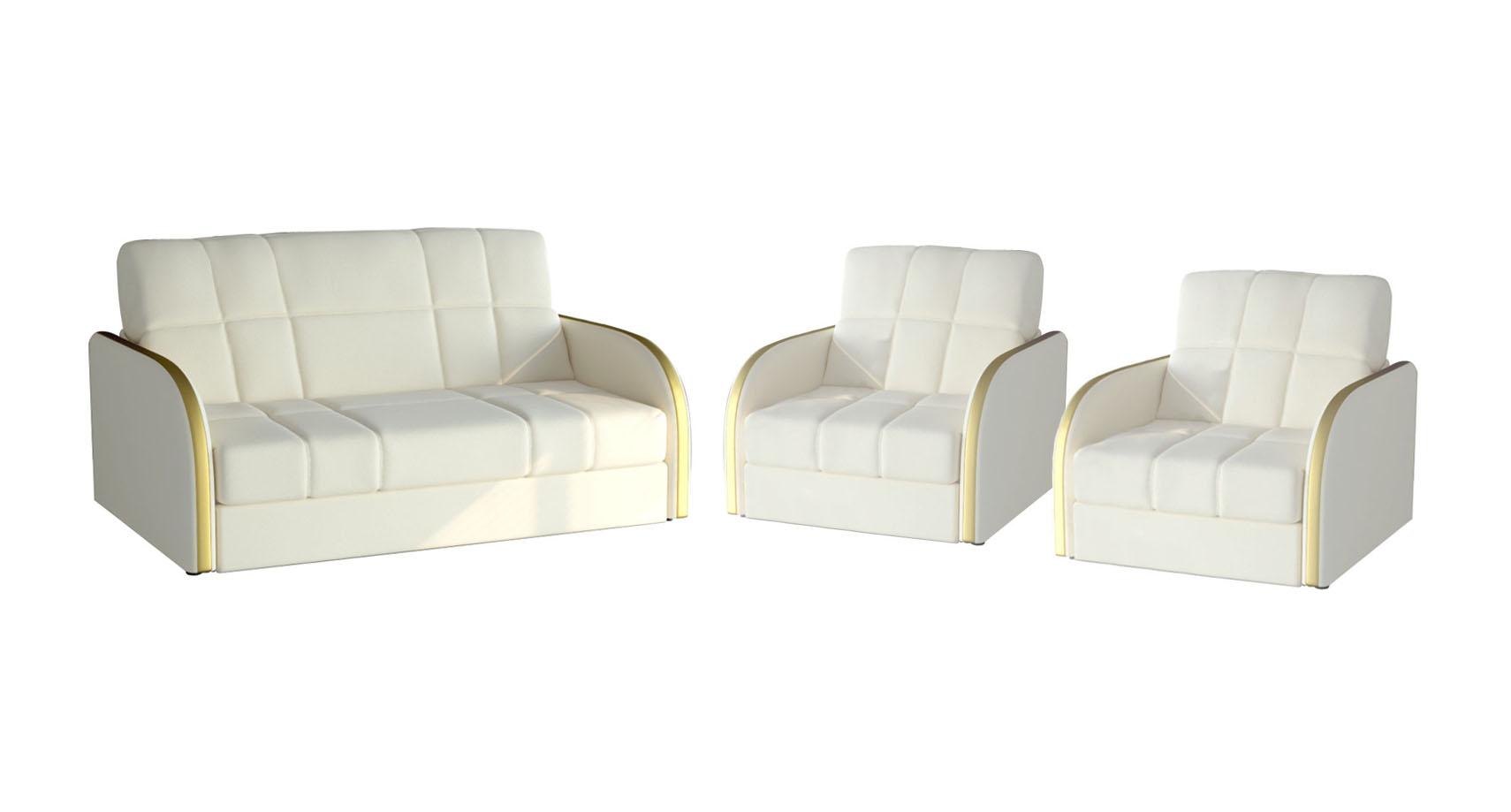 Комплект мягкой мебели Пуйл