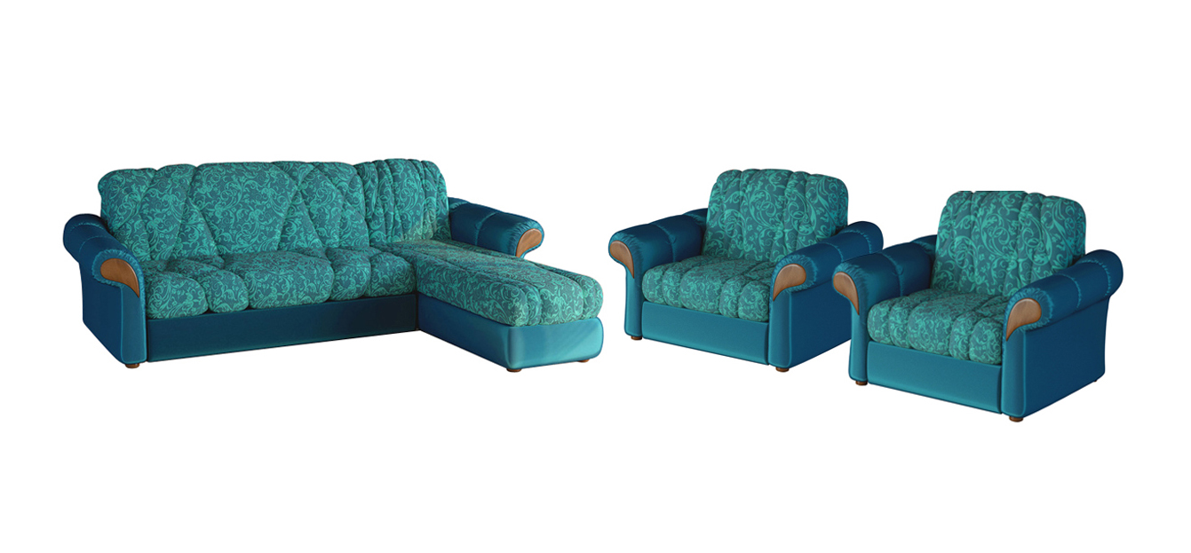 Комплект мягкой мебели Ультра 2