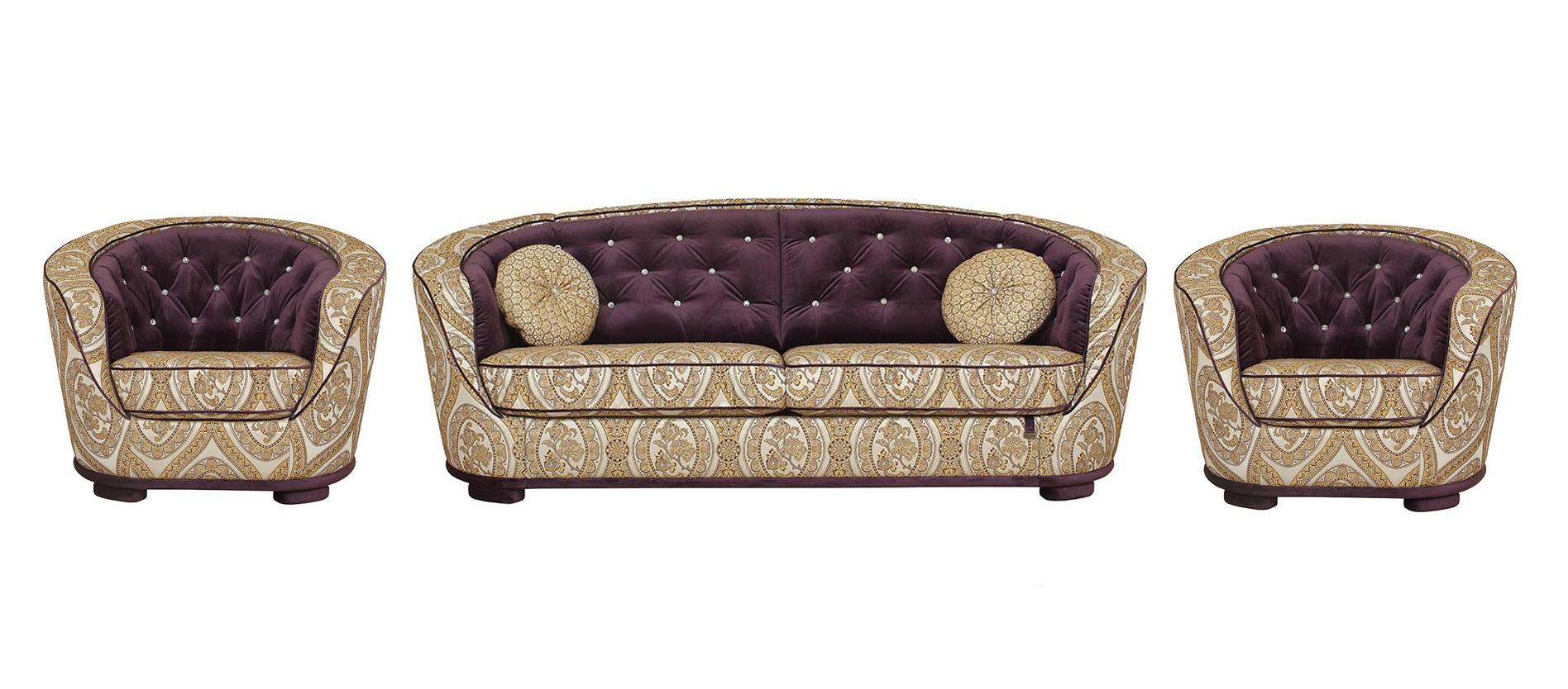 Комплект мягкой мебели Эссен стразы